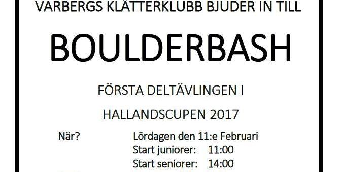 Första deltävlingen i Hallandscupen